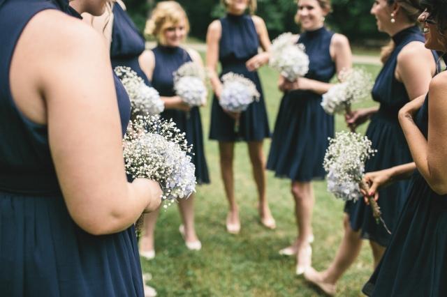 Sarah + Chaz: Bridesmaid Bouquets